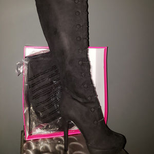 Shoes - Women Over The Knee Tall Boots